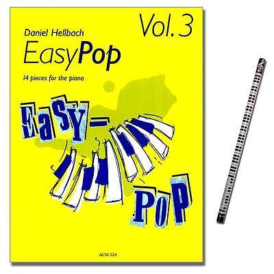Easy Pop 3 - 14 Klavierstücke - mit PianoBleistift - ACM228 - 9990051594676