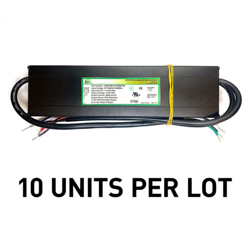 [LOT OF 10] NEW EPtronics 96W LED Drivers Constant Current 2800mA 480VAC Dimming