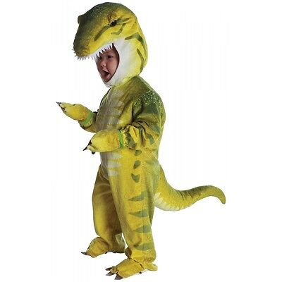 T-Rex Plush Jumpsuit Toddler Costume - Dinosaur](Teen Dinosaur Costume)