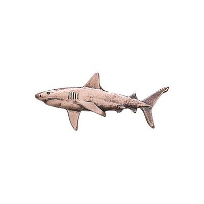 Copper ~ Great White Shark ~ Lapel Pin / Brooch ~ SC112
