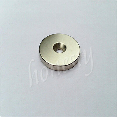 1pc N40 Super Strong Round Ring Magnets Hole 356mm Rare Earth Neodymium