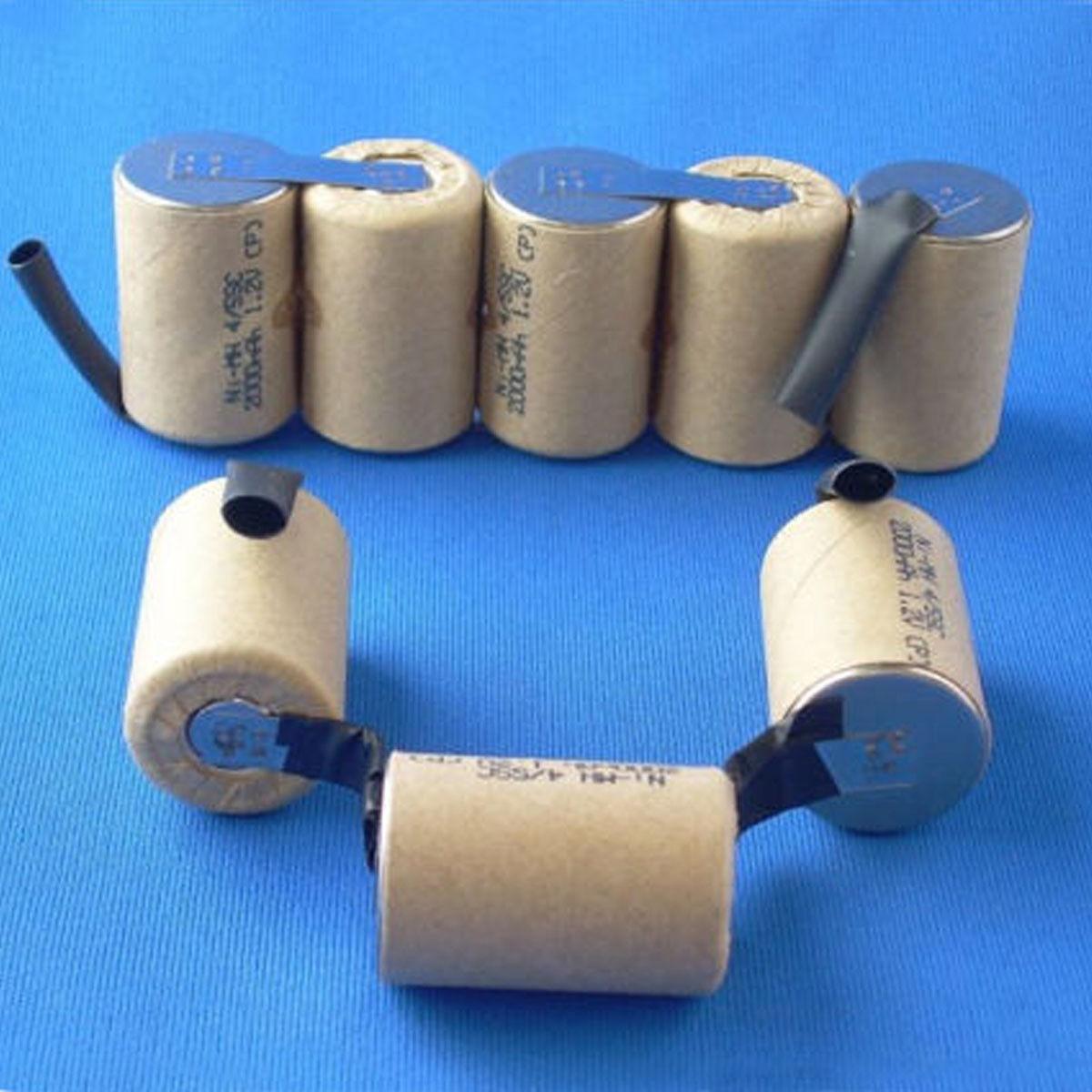 Battery Rebuild Pack For Electrolux Ergorapido 9.6V 2.0Ah 2000mah NI-MH