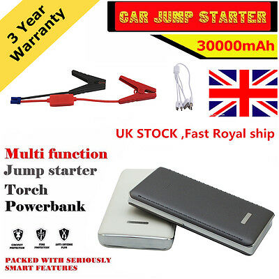 30000mAh Car Jump Starter portable Booster Power Bank portable Charger in UK