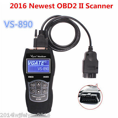 2016 Newest OBD2 Diagnostic Scanner VS890 Car Fault Code Reader Multi-languages