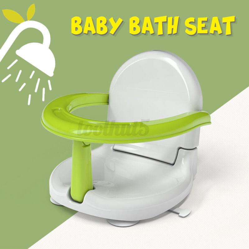 Foldable Multifunctional Infant Baby Child Bath Feeding Tub Chair Seat Anti-Slip