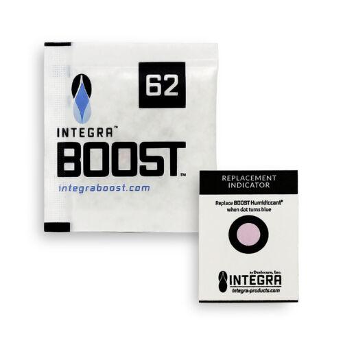 10 Pack Integra Boost RH 62% 8 gram Humidity 2 Way Control Humidor Pack