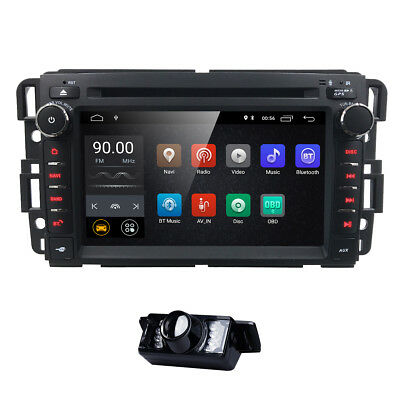 "Android 8.0 for Chevrolet Silverado GMC Sierra 7""Car Stereo Radio DVD GPS System"