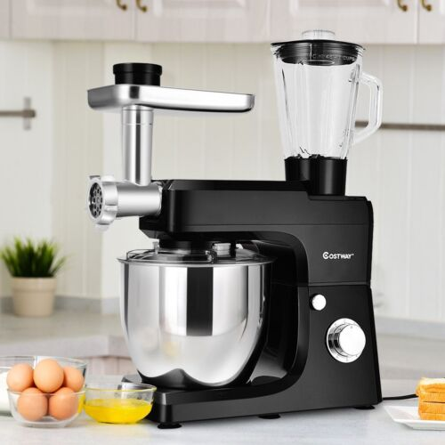 Kitchen 3 in 1 Multifunctional Stand Mixer Blender Meat Grin