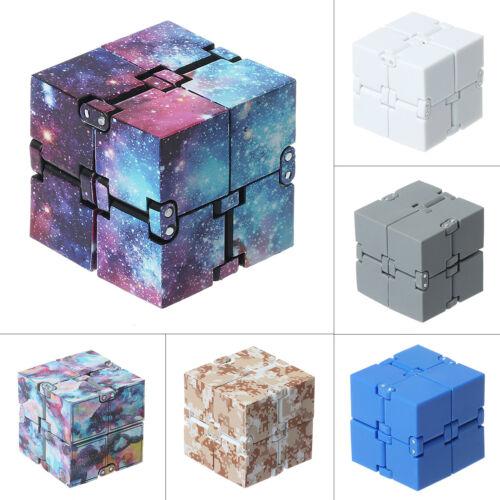 Magic Cube Infinity Fidget Anti Anxiety Pressure Relief Bloc