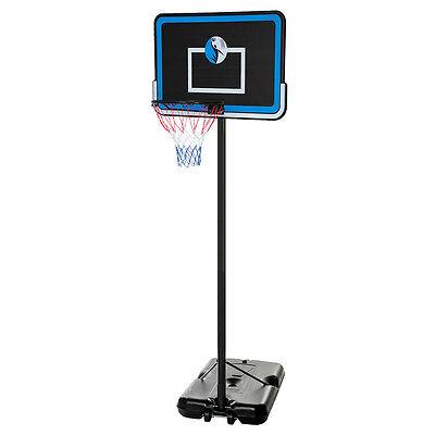 10Ft Adjustable Portable Basketball System 44  Hoop Backboard Rim System B44