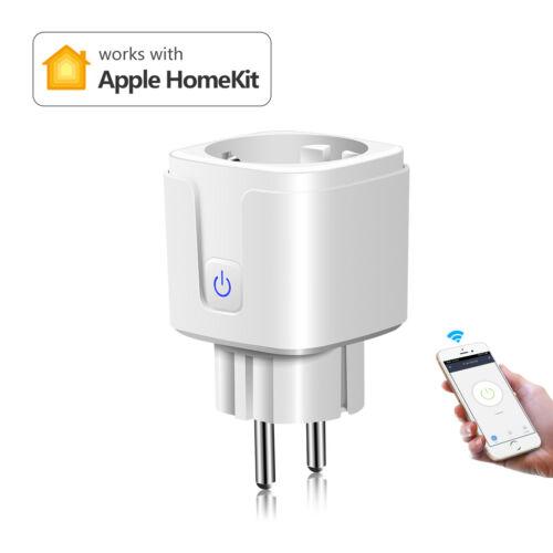 15A EU Wifi Smart Plug Remote Control Outlet Socket Work wit
