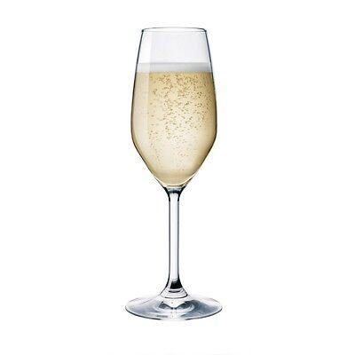 Set 6 CALICI Flute Prosecco champagne DiVino 24CL BORMIOLI ROCCO MADE IN ITALY