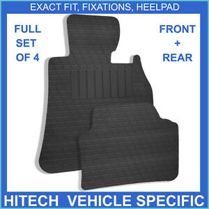 Genuine Hitech VS Rubber Mats: Volkswagen Golf Mk5/Mk6 Round Clips Car Mats