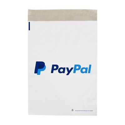 25 x Strong White PayPal Mailing Postal Poly Postage Bags 10x14