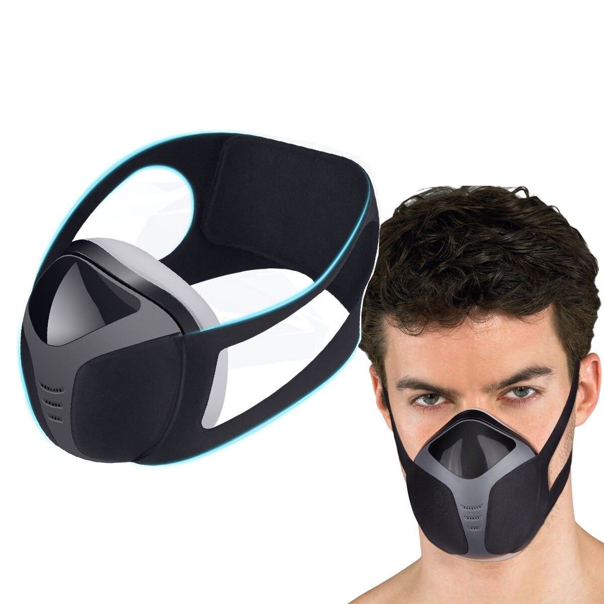 Safety Respirator Dust Mask Breathing Protection Electric Ai