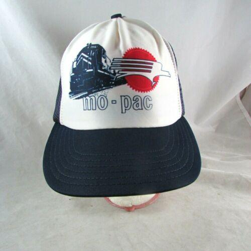 MO-PAC Trucker Hat Mesh Snapback Missouri Pacific Railroad Reynolds USA Vintage