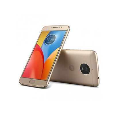 Motorola moto E4 XT1765 Gold T-Mobile Water-Resistant Android 4G LTE Smartphone ()