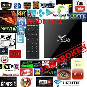 Android 6.0 tv box 2016 Latest X96 S905X 4K Kodi 1gb/8gb OTT wifi Noble Park Greater Dandenong Preview