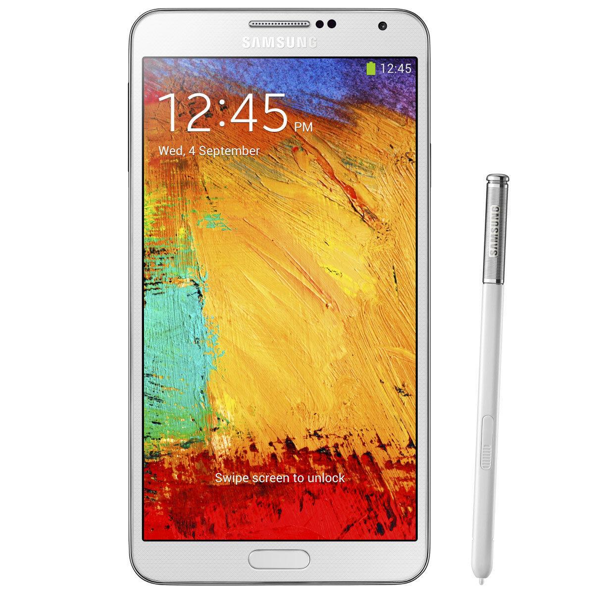 Samsung N900 Galaxy Note 3 32GB Android Verizon Wireless 4G LTE Smartphone