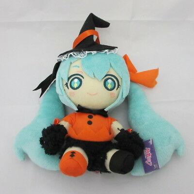 Hatsune Miku Plush Doll Halloween Ver.A anime Vocaloid TAITO - Hatsune Miku Halloween Ver