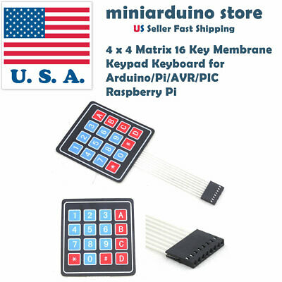 1pcs 4x4 16 Key Keypad Membrane Switch Matrix Array Arduino Raspberry Pi Module