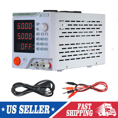 0-60v 0-5a Dc Switching Power Supply Adjustable Digital Regulated Lab Grade X6d1