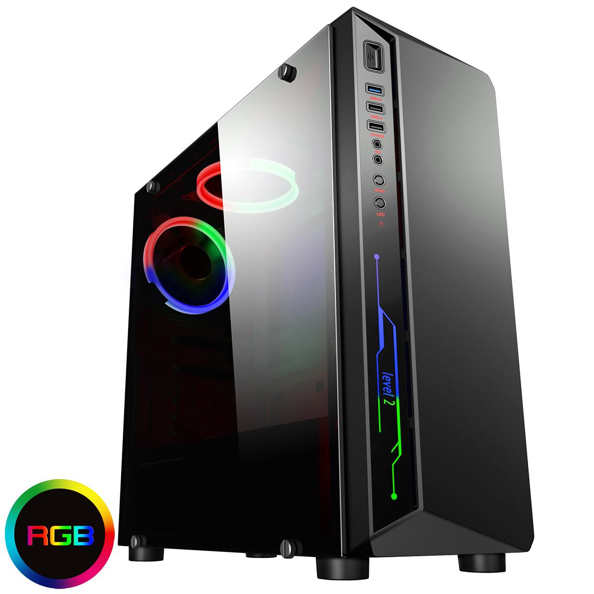Computer Games - Gaming PC Quad Core i5 Computer SSD HDD 4-16 GB RAM GT GTX GFX Windows 10 WiFi