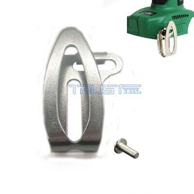 - For Hitachi Belt Clip & Screw Kit for 14V/18V DS14DSFL DS18DSDL Drill Driver