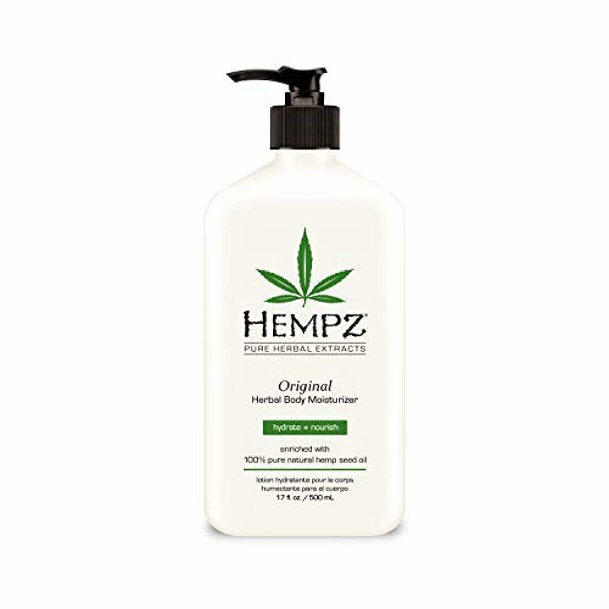 Original Natural Hemp Seed Oil Body Moisturizer with Shea Bu