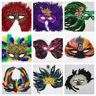Unique Masquerade Masks (FEATHER MASKS 50+ Unique Masks to Choose From! Costume/Halloween/Masquerade)