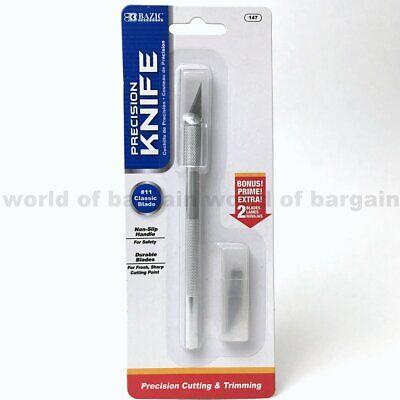 HOBBY KNIFE Razor Sharp Cutter Arts Craft Cutting Tool Exacto +Blade Refills - C Craft
