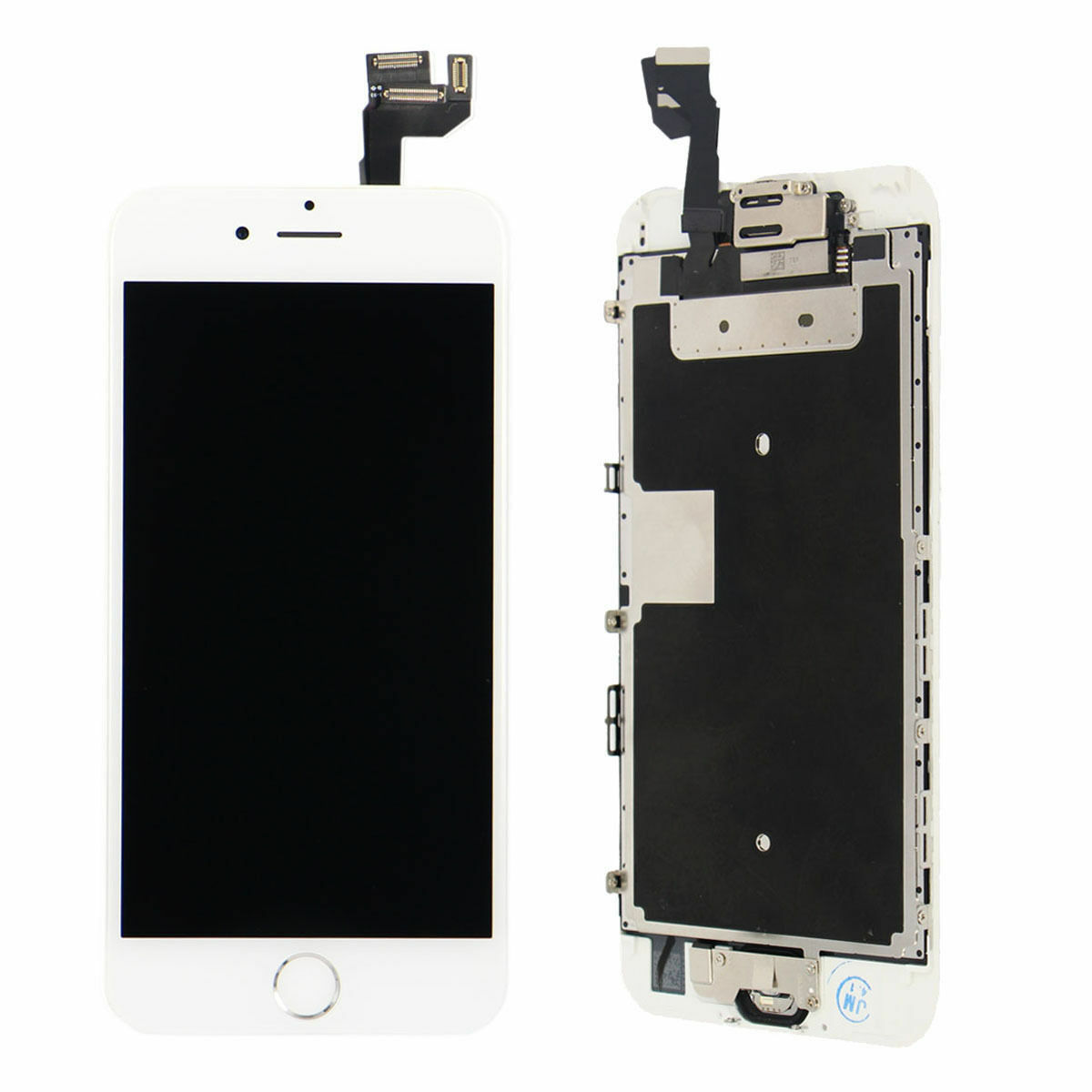 White Full Lcd Screen Display 3d Touch Digitizer For Ipho...