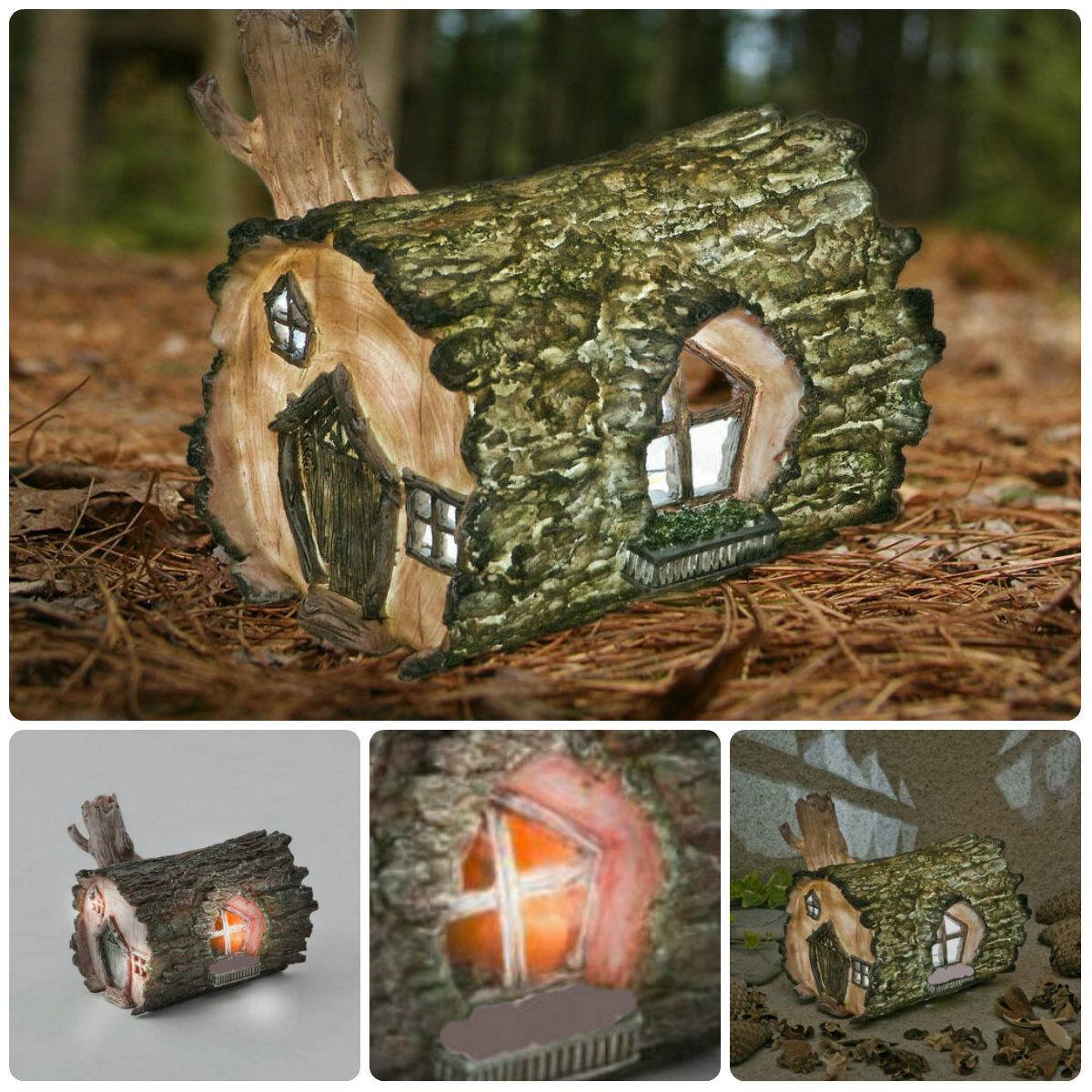 Fairy garden ornaments - New Fairy Garden Accessories Fairy Door Tree Face Fairy House Garden Ornaments