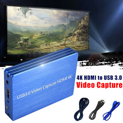 4K HDMI to USB 3.0 Video Capture Card Dongle 1080P 60fps Ful