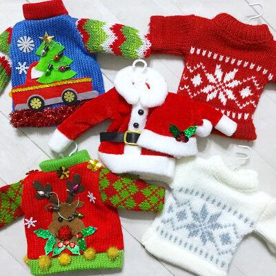 Christmas Sweater Ornament Holiday Winter Ski Santa Ugly - Ugly Ornaments