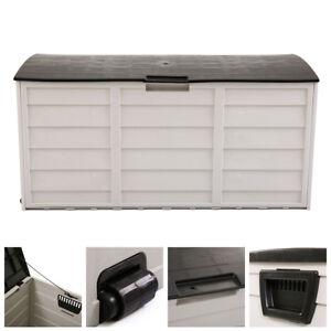 Tool Box Outdoor Garden Storage Shed Patio Garage Backyard Deck Cabinet