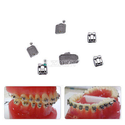 Usps Azdent Dental Orthodontic Mim Self Ligating Bracket Braces Buccal Tubes