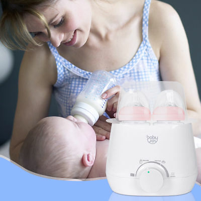Portable 3-IN-1 Baby Bottle Warmer Steam Sterilizer Food Breastmilk Heater