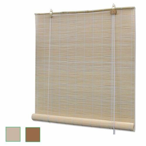 Natural Bamboo Roller Blinds Blackout Best Window Sunshade S