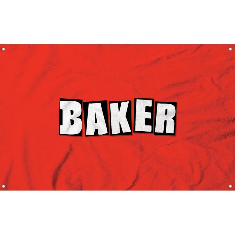 "Baker Skateboard Shop Banner - Logo Cloth 36"" x 60"""