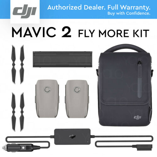 DJI FLY MORE KIT for MAVIC 2 PRO / ZOOM. Shoulder bag, Car charger, 2x Battery