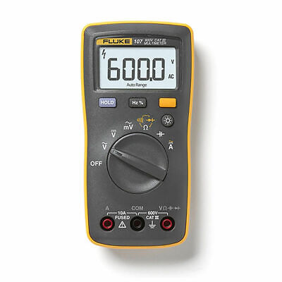 Fluke 107 Palm-sized Portablehandheld Digital Multimeter