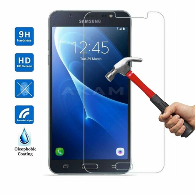 Genuine HD Tempered Glass Film Screen Protector For Samsung Galaxy J7 2016 J710F