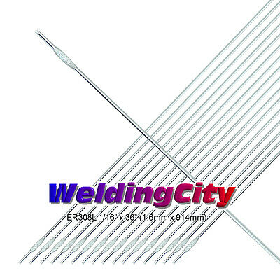 Weldingcity Er308l 116 5-lb Stainless Steel 36 Tig Welding Filler Rod 5-lb