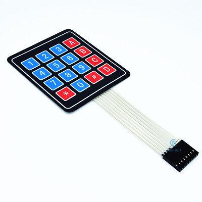 Adeept 16 Key Membrane Switch Keypad Keyboard 4 X 4 4x4 44 Matrix Array Arduino