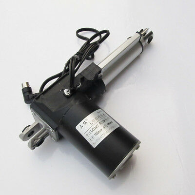 1pcs Electric Linear Actuator Motor 1224v 50-600mm Stroke 4 Pin Din Male Plug