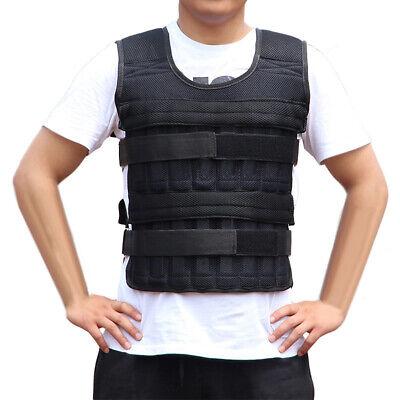 Adjustable Weighted Vest Weight Training Exercise Boxing Jacket Clothing US