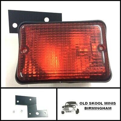 CLASSIC MINI REAR FOG LAMP & BRACKET KIT 1983> XFE10006 OE SPEC CAR LIGHT O/S