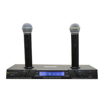 MArtin Ranger UHF700 UHF Dual Channel Mic Rechargeable Wireless Microphone