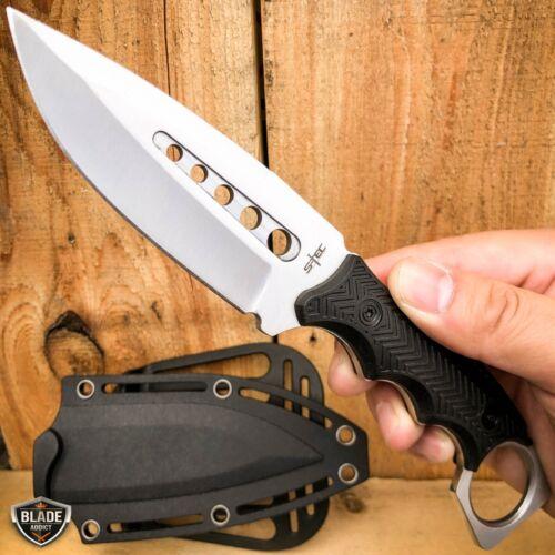"""13.5"""" Full Tang TACTICAL Hunting Rambo Fixed Blade Camping B"""